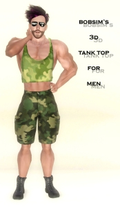 Bobsim's 3D Tank Top for Men1