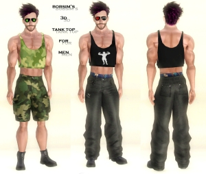 Bobsim's 3D Tank Top for Men2