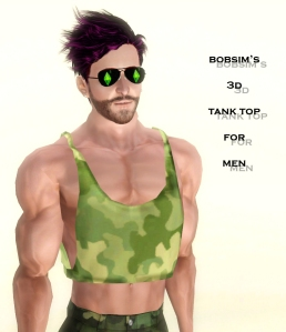 Bobsim's 3D Tank Top for Men4