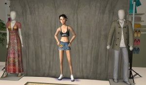 bobsims Tf Mini-skirt and Tank-top4