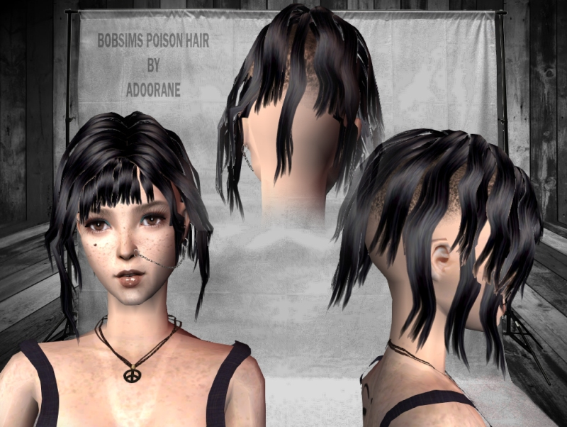 Bobsims poison hair by Adoorane